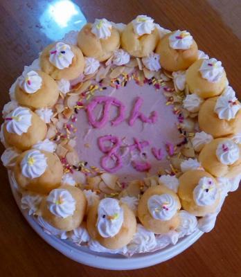 和 8歳誕生日ケーキ