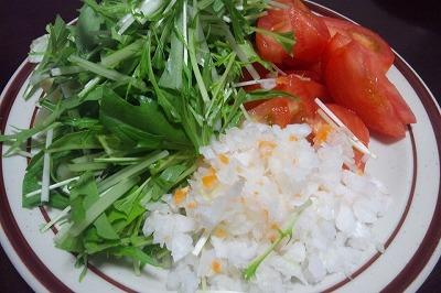 トルティーヤ、野菜