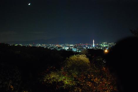 京都市内夜景