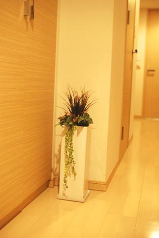 造花のインテリアグリーン