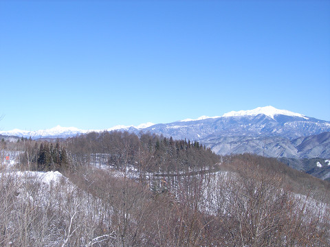 0058鈴蘭高原から見た乗鞍岳