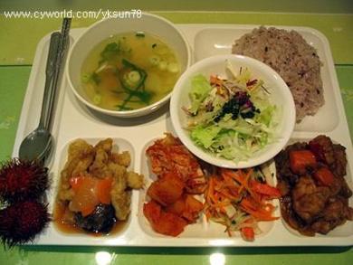 韓国の給食