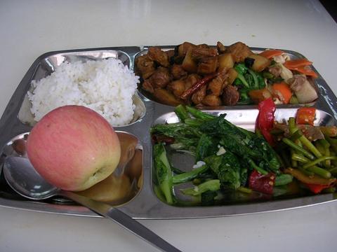 中国の給食