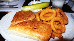 Pita and Onion Ring