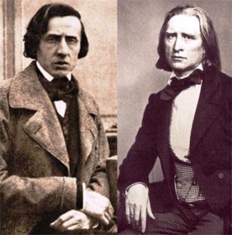 Chopin and Liszt