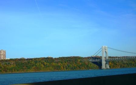 G Washington Bridge and New Jersey