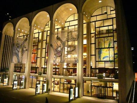 Metropolitan Opera Nov 2010
