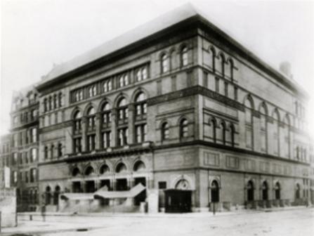 Carnegie Hall circa 1900