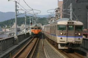 JR嵯峨野線113系