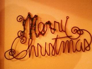 メリークリスマス壁掛け①