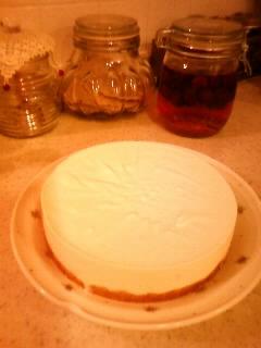 2010.0719レアチーズケーキ①