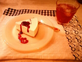 2010.0719レアチーズケーキ