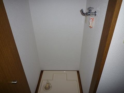 アースライズ302室内洗濯機置き場