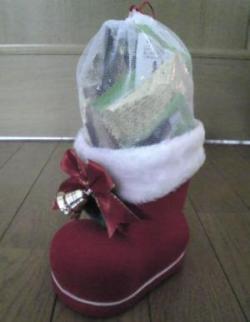 091223サンタさんのブーツ