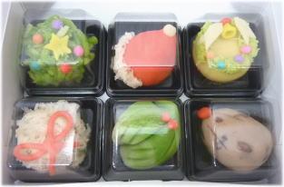 クリスマス上生菓子セット