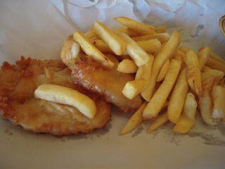 西オーストラリアの魚料理(1)