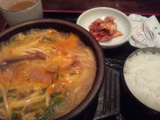 カルビクッパ@カルビ食事専門店 GALBIJO (本郷)
