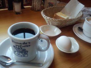 ブレンドコーヒー@コメダ珈琲店 横浜中山店 (横浜市)(2)