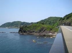 ライオン岩とライオン海道