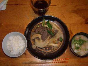 筍と牛肉の韓国風炒め物