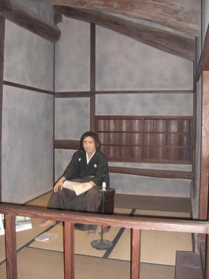 龍馬さんの隠れ部屋