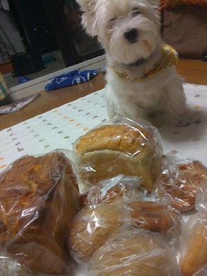 おれのパンだし・・・