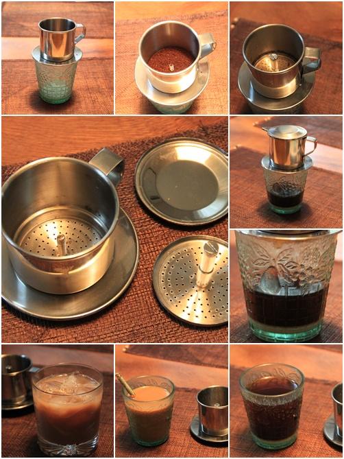 ベトナムコーヒーの淹れ方