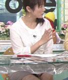 高島彩アナ透け透けのエッチな服で体操し股間モロ見え動画&乳首ポロリ