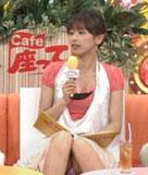 エロ画像 人気女子アナ 中野美奈子、加藤綾子 他、TVでお股が丸見えになった瞬間!