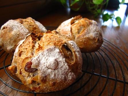栗と木の実のパン