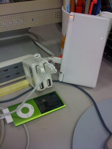 4穴USB ACアダプター