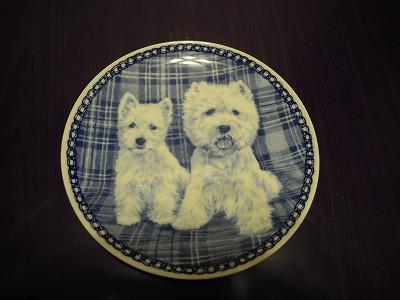 ウエスの絵皿