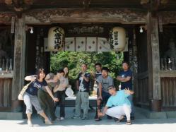 一番札所霊山寺です