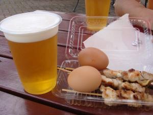 高坂鶏の焼鳥&生ビール