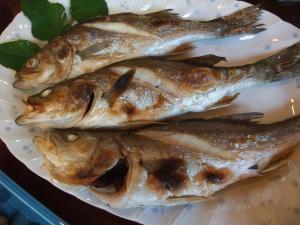 身がもちもちの焼き魚
