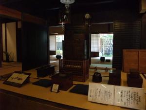 商家のくらしを再現する生きた資料館