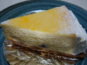デリチュース ブルーベリーの入ったチーズケーキ