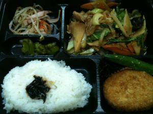 チンゲン菜弁当390円
