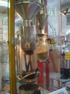 日本ではまだまだ珍しいドイツ製の高速熱風焙煎機ノボローストマスター
