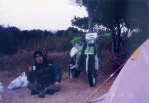 潮岬キャンプ1996年