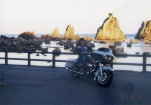 橋杭岩2001年