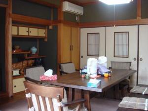 中村さん家のおそば屋さん。店(?)内。