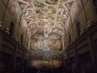 システィーナ礼拝堂天井画および壁画 ミケランジェロ