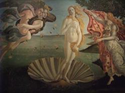 ヴィーナスの誕生 ボッティチェッリ、サンドロ