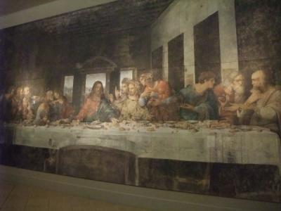 最後の晩餐 修復前 レオナルド・ダ・ヴィンチ