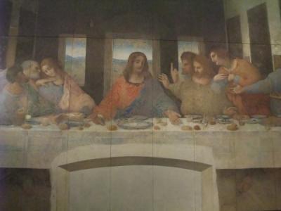 最後の晩餐 修復後 レオナルド・ダ・ヴィンチ