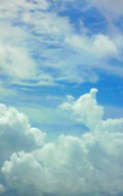 8月9日 入道雲