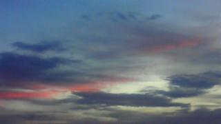 8月10日 夕焼け南の空
