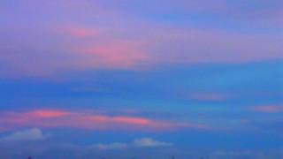 8月10日 夕空東の空