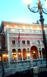 8月17日 ベネチアレストラン